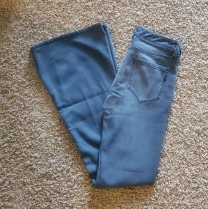 Genetic Denim gray The Fever flare jeans. 27.